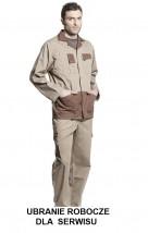 Ubranie robocze serwisowe Plus