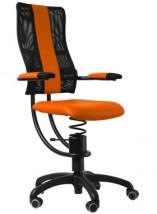 Zdrowotne krzesło biurowe z ruchomym siedziskiem HACKER