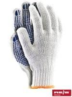Rękawice nakrapiane RDZN