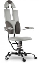 Ekskluzywne krzesło zdrowotne - SpinaliS Pilot- do kancelarii, dla prawnika, dla Prezesa
