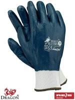 Rękawice powlekane nitrylem BLUETRIX