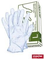 Rękawice gumowane oraz z tworzyw RVIN
