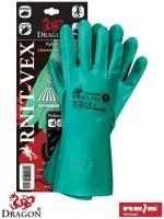 Rękawice gumowane oraz z tworzyw RNIT-VEX
