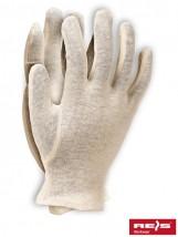 Rękawice bawełniane / poliestrowe / nylonowe RWK