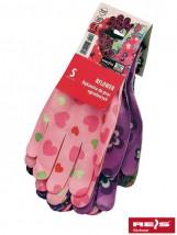 Rękawice bawełniane / poliestrowe / nylonowe RFLOWER