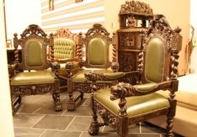 Fotel w stylu Gdańskim FT005