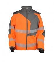 Wodoodporna kurtka ostrzegawcza softshell VWJK267