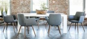 Krzesła, fotele kubełkowe