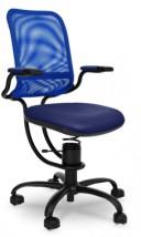 Krzesło do komputera biurowe ergonomiczne ze sprężyną