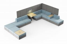 Siedziska modułowe Pl@net