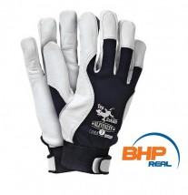 Rękawice monterskie z koziej skóry Everest