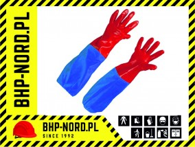 Rękawice PCV długie R424 `