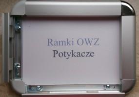 Rama zatrzaskowa - plakatowa OWZ