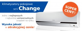 Klimatyzacja z montażem Change 3,5kW