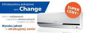 Klimatyzacja z montażem Change 2,5kW