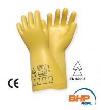 Rękawice elektroizolacyjne klasy 00  Elsec 2,5kV