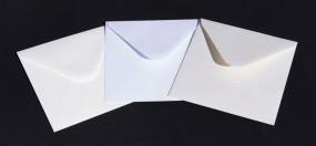 Koperty 14x14  120g 500 szt. Białe / Ecru 140x140
