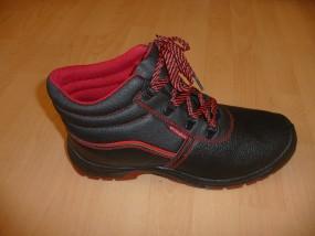 Buty ochronne z metalowym podnoskiem