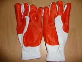 Rękawice powlekane podwójną gumą