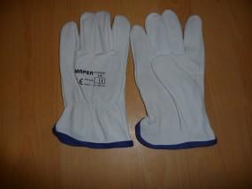 Rękawice spawalnicze z koziej skóry