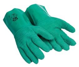 Rękawice gumowe szorstkowane 195 V