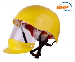Hełm Secra z przyłbicą chroniącą twarz