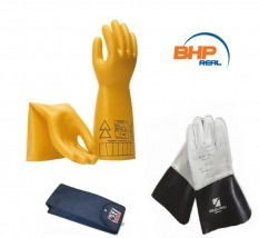 Rękawice dielektryczne- elektroizolacyjne ELSEC 1-30kV