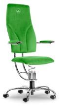 Krzesło komputerowe Navigator chromowane ekskluzywne