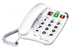 Telefon stacjonarny przewodowy DERBY 150 N