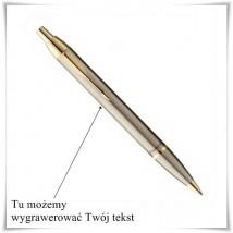 Długopis Parker IM Brushed Metal GT z opcją graweru