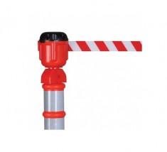 Głowica z taśmą ostrzegawczą zwijaną 9 metrów