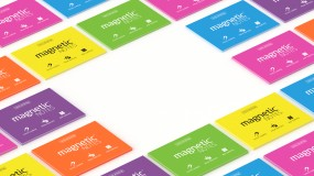 Karteczki elektrostatyczne różne rozmiary