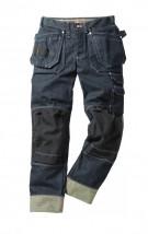 Spodnie monterskie do pasa z bocznymi kieszeniami  2590