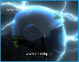 Hełm dla energetyka z osłoną twarzy Onyx