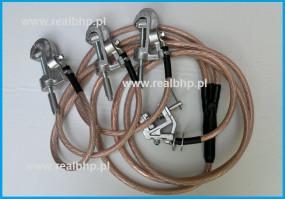 Uziemiacz przenośny na szyny i przewody okrągłe U3-ZF-2/A-3/1-13/1-50