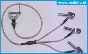Uziemiacz na trzpienie śruby i nakrętki U3-TS-1/07-13/1-50 (SI)