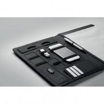 Teczka A4 z ładowarką SMARTFOLDER czarny